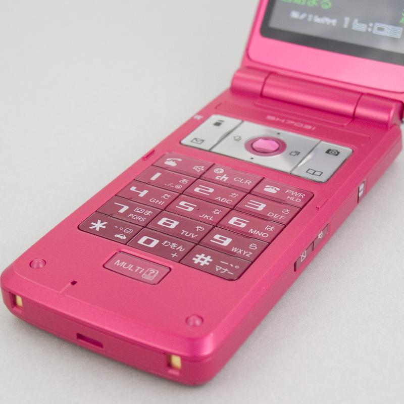 夏普「SH703i」风尚炫镜手机真机解读 - corsair.ll - 只谈日本手机 国内首个日本手机专属频道