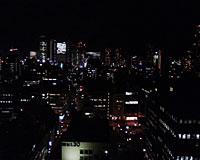 창넘어로 도내의 야경을 촬영.링크처는 1,280×1,024 닷, 573KB