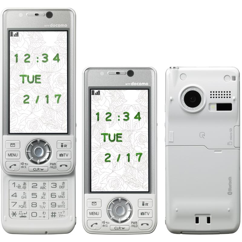 P-02A(松下)——三菱经典延续 滑盖VIERA手机 - 只谈日本手机 - 只谈日本手机 国内首个日本手机专属频道