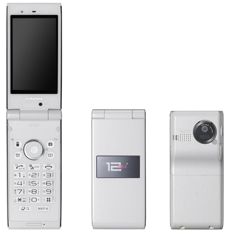 SH-02A(夏普)——8款流行色 520万像素13.9毫米薄型手机 - 只谈日本手机 - 只谈日本手机 国内首个日本手机专属频道