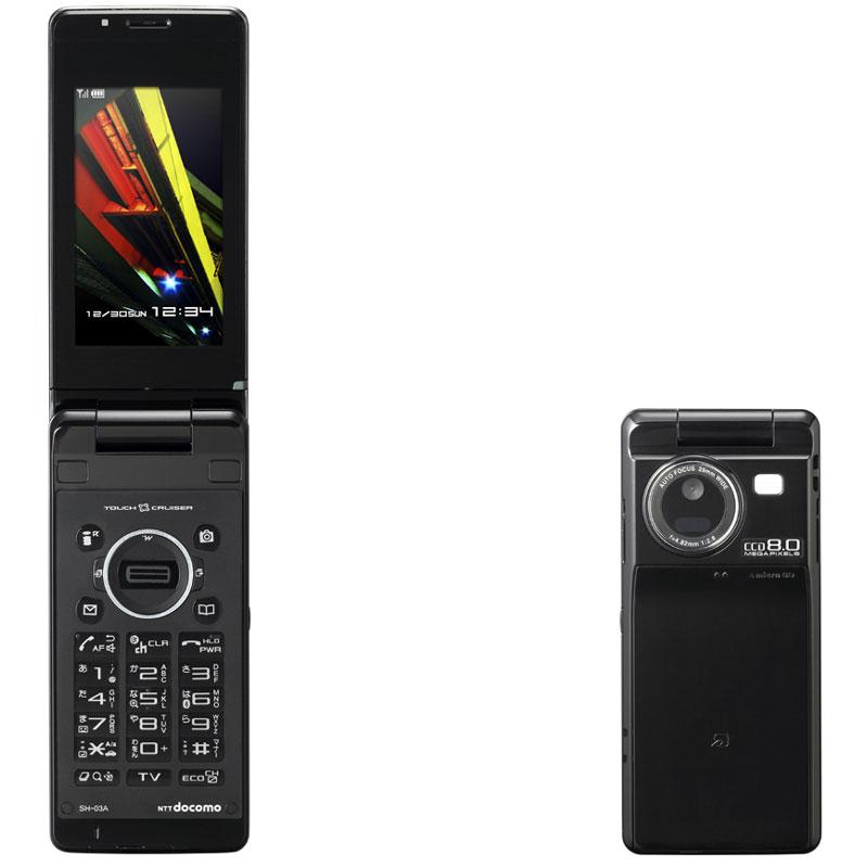 SH-03A(夏普)——SH906i后继机型 800万像素CCD+指纹认证 - 只谈日本手机 - 只谈日本手机 国内首个日本手机专属频道