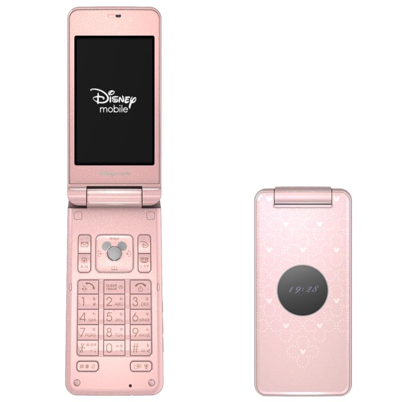 Disney Mobile DM004SH(夏普) - 只谈日本手机 - 只谈日本手机 国内首个日本手机专属频道