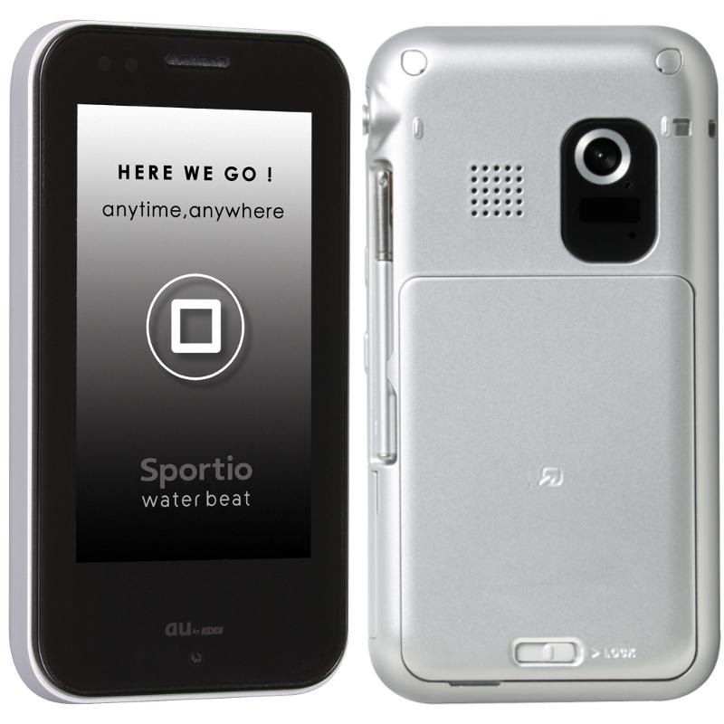 au Sportio water beat(夏普) - 只谈日本手机 - 只谈日本手机 国内首个日本手机专属频道
