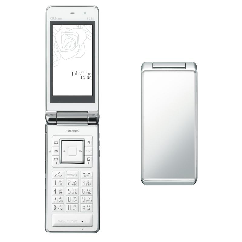 au T002(东芝) - 只谈日本手机 - 只谈日本手机 国内首个日本手机专属频道