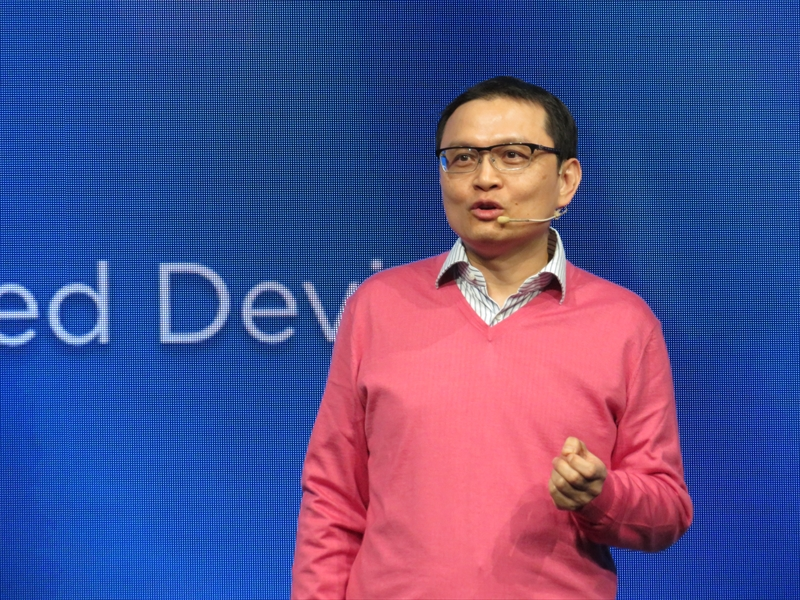 HTC President of Smartphone and Connected DevicesのChialin Chang氏
