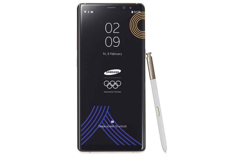 「Galaxy Note8 PyeongChang 2018 Olympic Games Limited Edition」