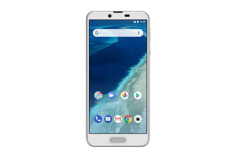 「Android One X4」パールホワイト