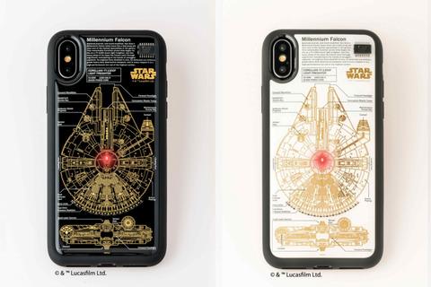 光る iphone ケース