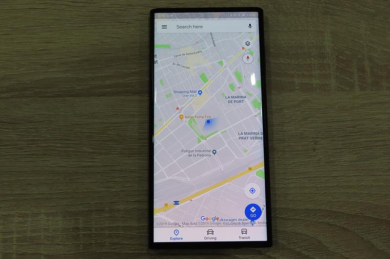 Google マップを表示