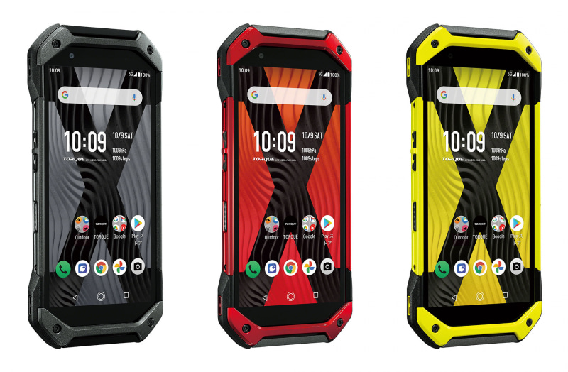 【タフネススマホ】au、京セラ製5Gスマホ「TORQUE 5G」26日発売――強靭性がさらに進化し5G対応
