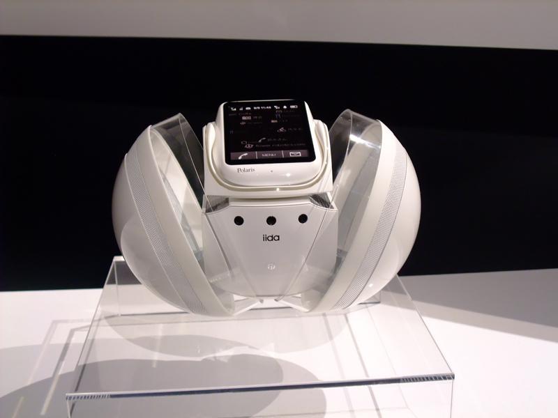 """技术在线!:KDDI等发布配备有手机的""""北极星""""概念型机器人 - 只谈日本手机 - 只谈日本手机 国内首个日本手机专属频道"""