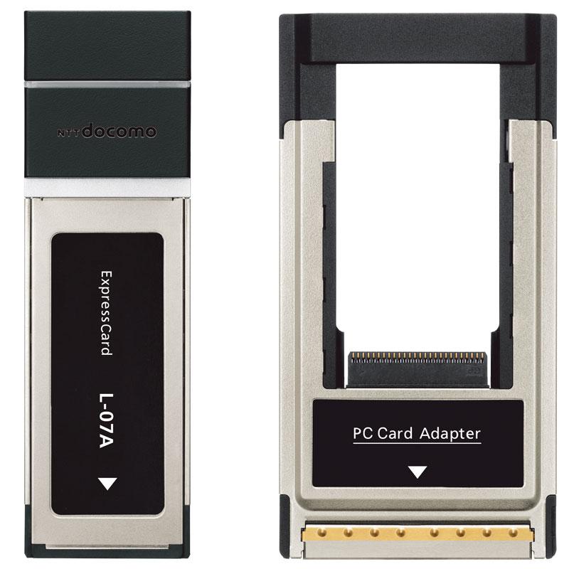 DOCOMO开发上行5.7Mbps的Express Card型L-07A - 只谈日本手机 - 只谈日本手机 国内首个日本手机专属频道