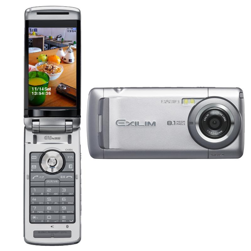 au EXILIMケータイ CA004(卡西欧) - 只谈日本手机 - 只谈日本手机 国内首个日本手机专属频道