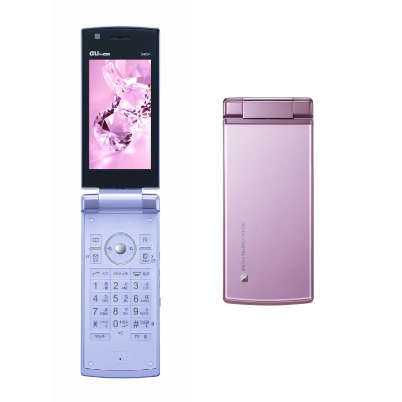 au SH004(夏普) - 只谈日本手机 - 只谈日本手机 国内首个日本手机专属频道