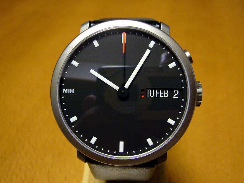 [画像]スイス国際時計博物館のオリジナル腕時計「MIHウォッチ ...