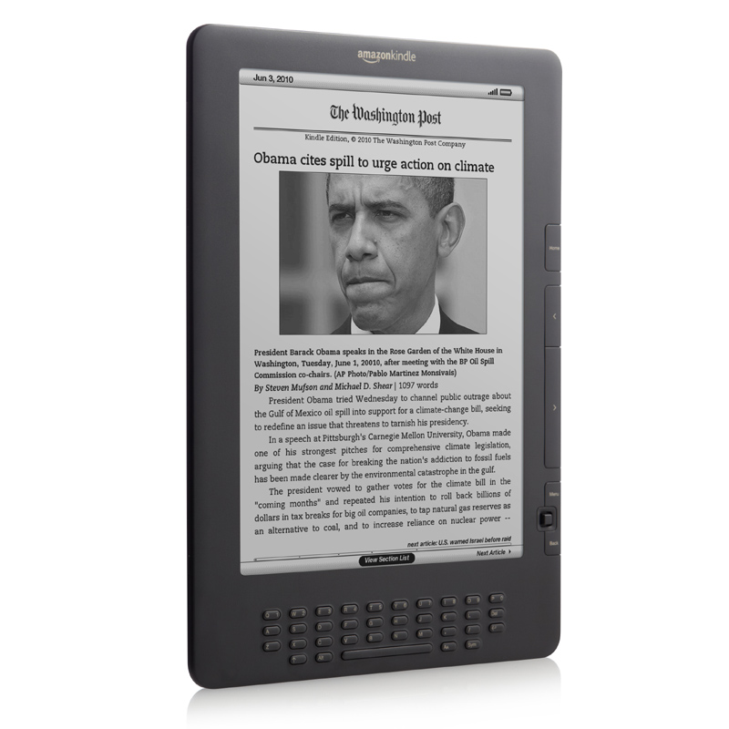 新型のKindle DX