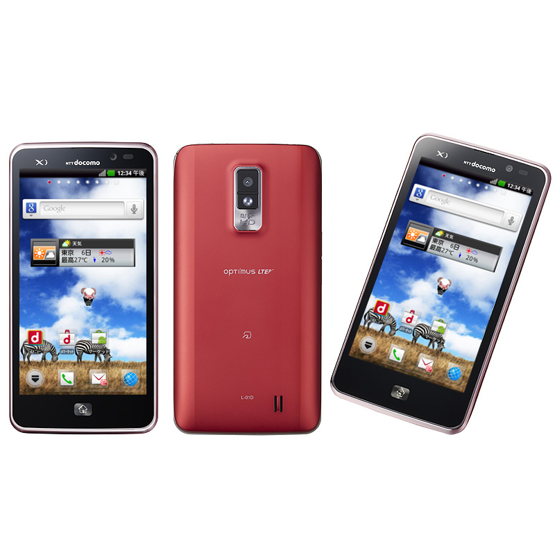 OPTIMUS LTE L-01D(Red)