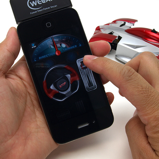 「iPhone Controlled Wall Climbing Car iW500」