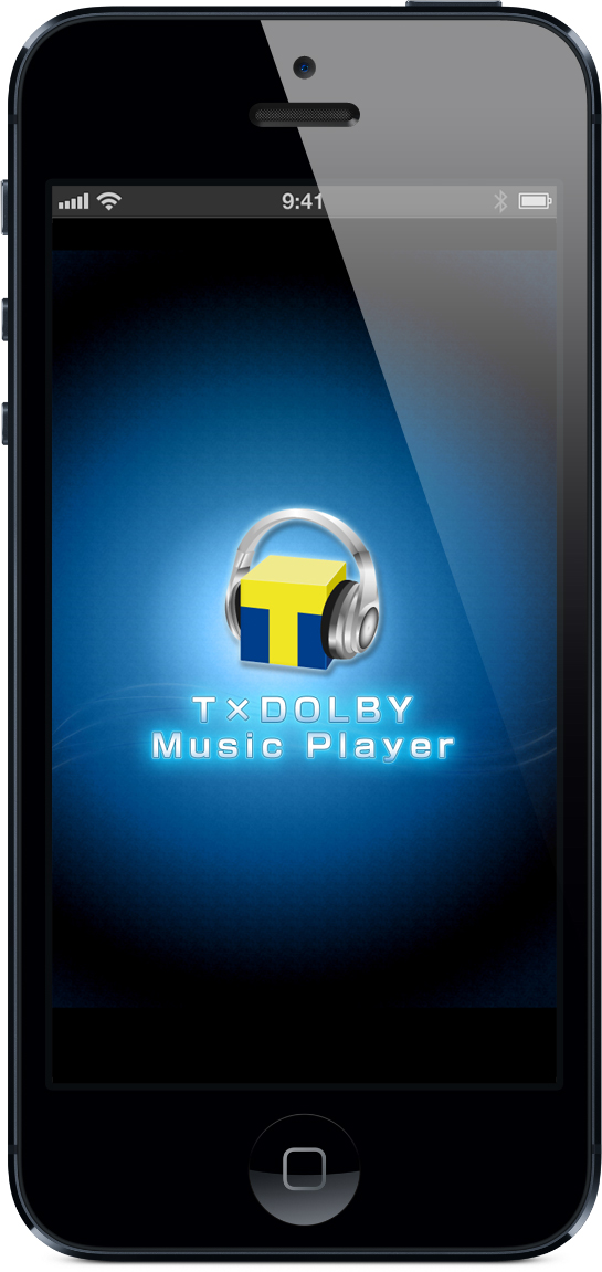 「T×DOLBY Music Player」