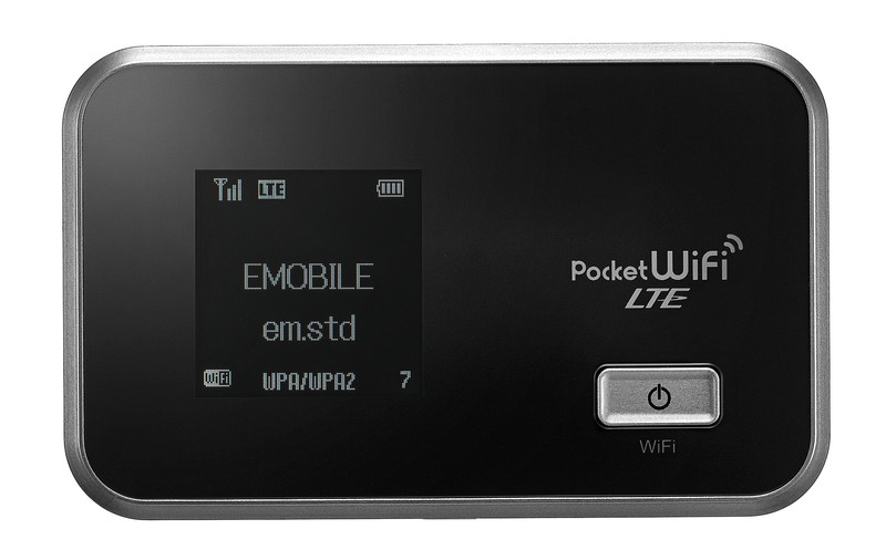 「Pocket WiFi LTE GL06P」シルバー
