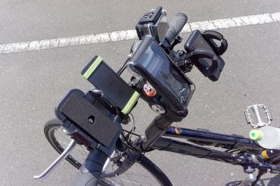 自転車の 自転車 スマホ 充電 : 比較対象の4台とは別に、もう1 ...