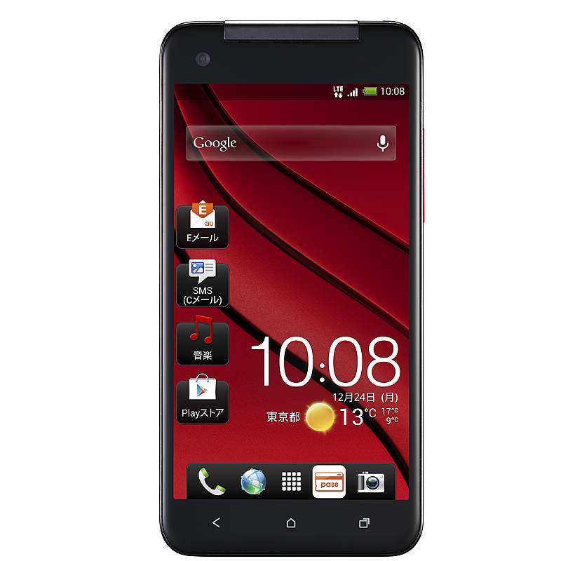 「HTC J butterfly HTL21」