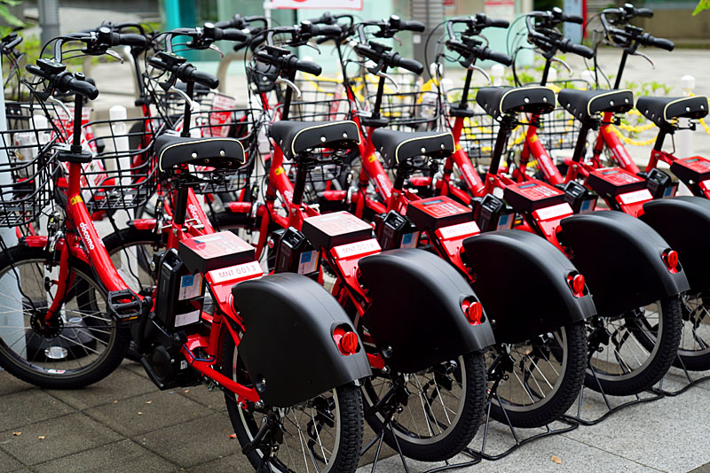 画像]港区自転車シェアリング ...