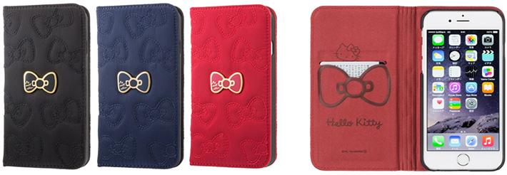 「Hello Kitty キルティングケース」(iPhone 6用)