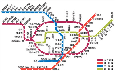 浅草線 路線図