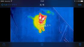Iphoneでサーモグラフィー ケータイ Watch Watch