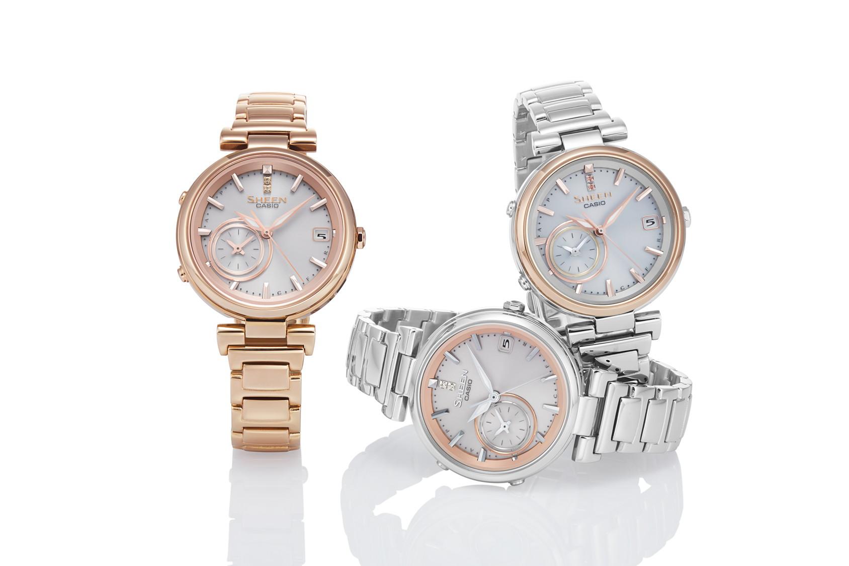cb41259e50 カシオの女性向け腕時計、スマホ連携で世界中で時刻補正が可能な新モデル - ケータイ Watch