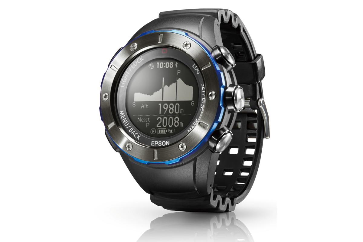 6141c622f2 エプソンの登山・トレイルラン向けGPS腕時計に新デザイン、スマホ連携も強化 - ケータイ Watch