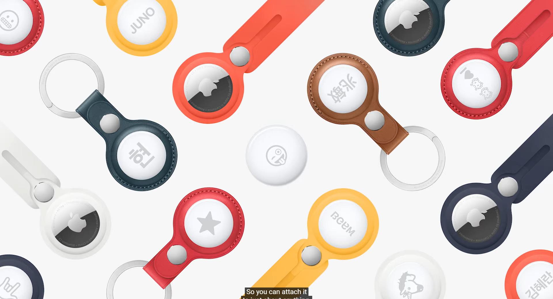 アップル、忘れ物防止タグ「AirTag」発表 - ケータイ Watch