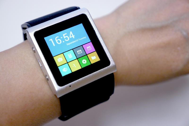 ちっさ! SIMフリーの腕時計型のAndroid端末「ARES EC309 ...